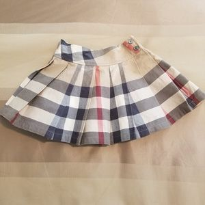 Authentic Toddler Burberry Skirt 3 yr old